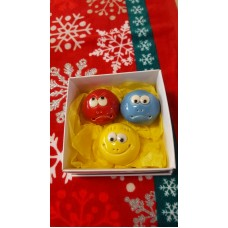 Emotion Balls - set of 3 (Happy, Sad and Angry) Gift Boxed